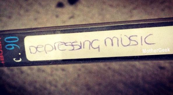 Depressing Music when emptying my late Mum's house