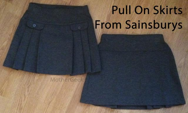 Sainsburys School Uniform Review - 2 skirts