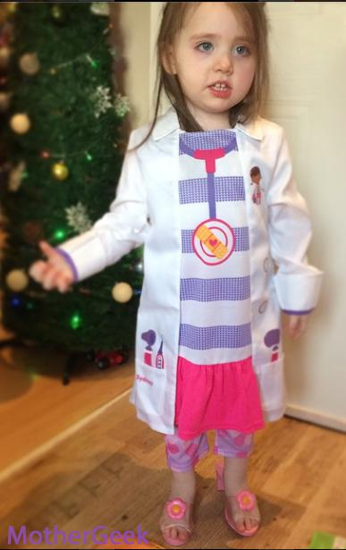 Disney Doc McStuffins Syd dressed up